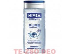 Nivea tusfürdő Pure Impact 250 ml