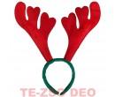 Karácsonyi hajpánt szarvas agancs 33 cm