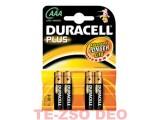 Duracell elem AAA 4 db