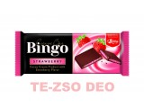 Bingo eper ízű krémmel töltött kakaós tejtábla 90 g