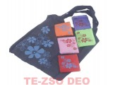 Bevásárló táska összecsukható  53x38 cm