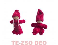 Karácsonyi Fonal Gyerek Fiú/Lány Bordó 7 cm