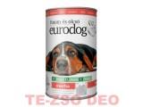 Eurodog Kutya Konzerv  Marhás  1240 g