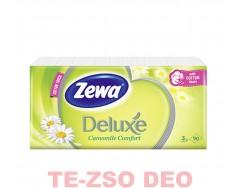 Zewa Deluxe Papírzsebkendő Kamilla 3 Rétegű 90 db