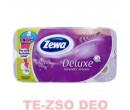 Zewa Delux wc papír levendulás 8 tekercses 3 rétegű