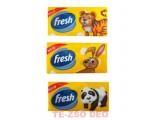 Fresh Gyerek Papírzsepkendő 10 db-os, 3 rétegű