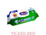 Aquella Nedves Törlőkendő Antibakteriális Fedeles 80 db