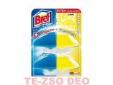 Bref Duo-Aktiv WC-gél utántöltő Lemon 2x50 ml